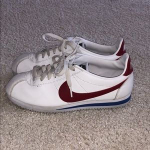 Nike Cortez Red White & Blue Sneakers